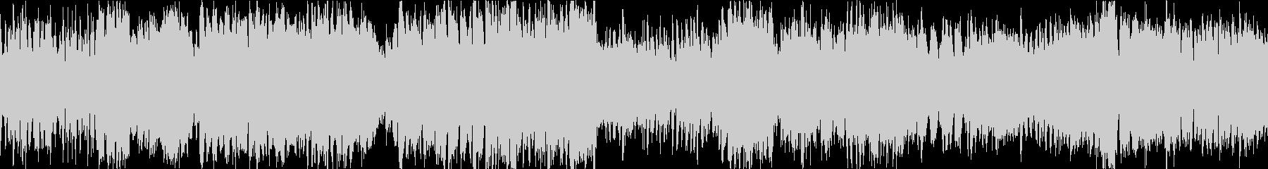 ブラスとストリングス戦闘曲(ショート版)の未再生の波形