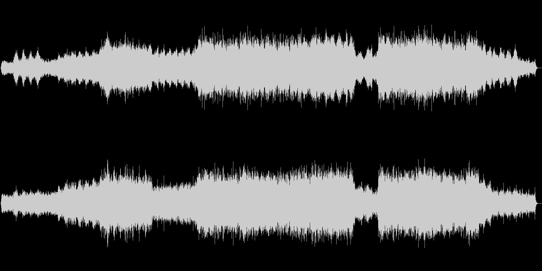 対流圏(サイクロン・エリア)の未再生の波形