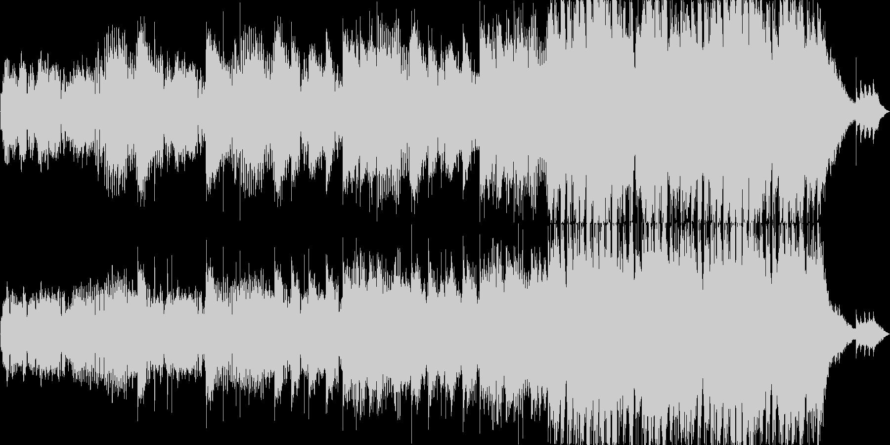 和風ループ音源の未再生の波形