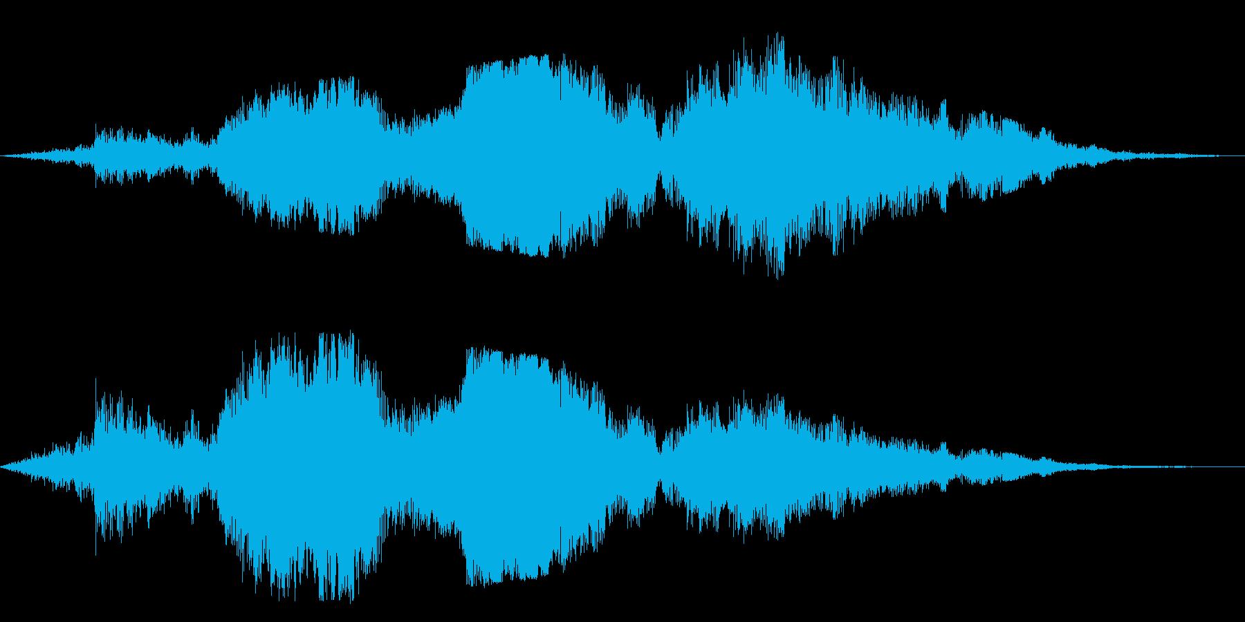 F1などのレース、エンジン音に最適39!の再生済みの波形