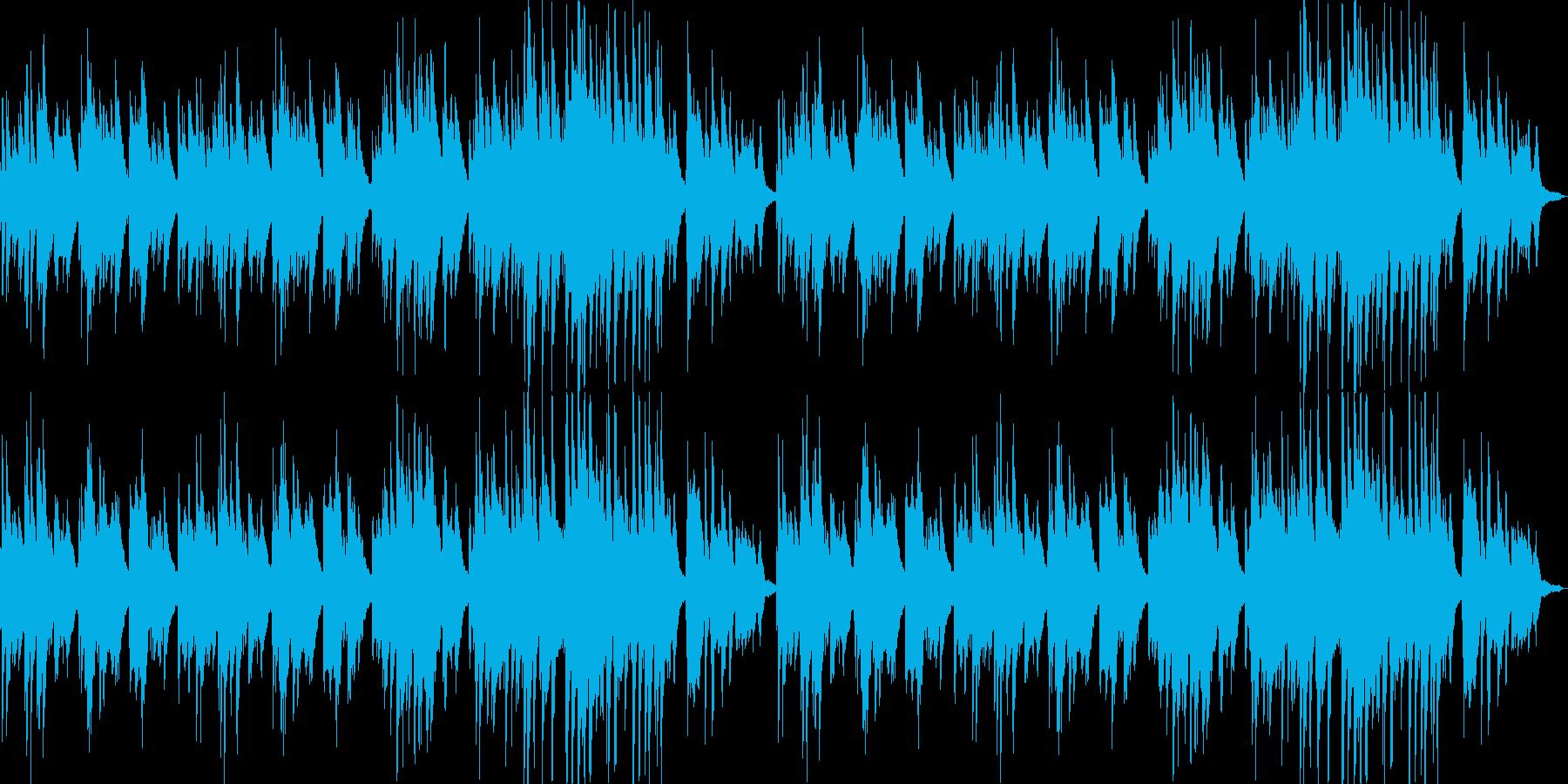 ピアノによる癒し系の曲です。の再生済みの波形