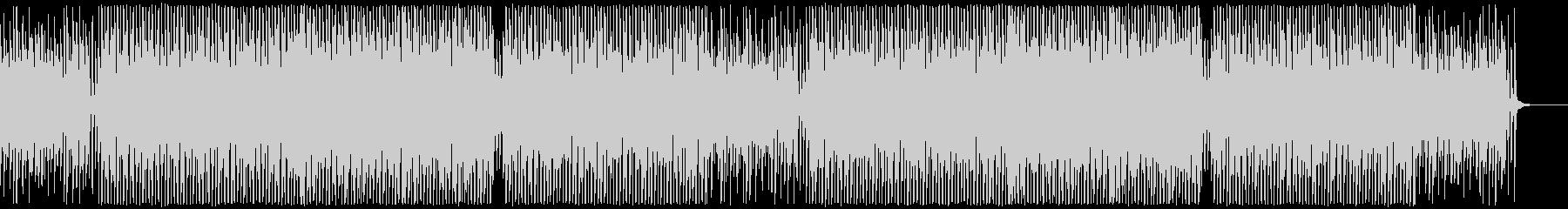 アップテンポなコンセプトムービー系BGMの未再生の波形