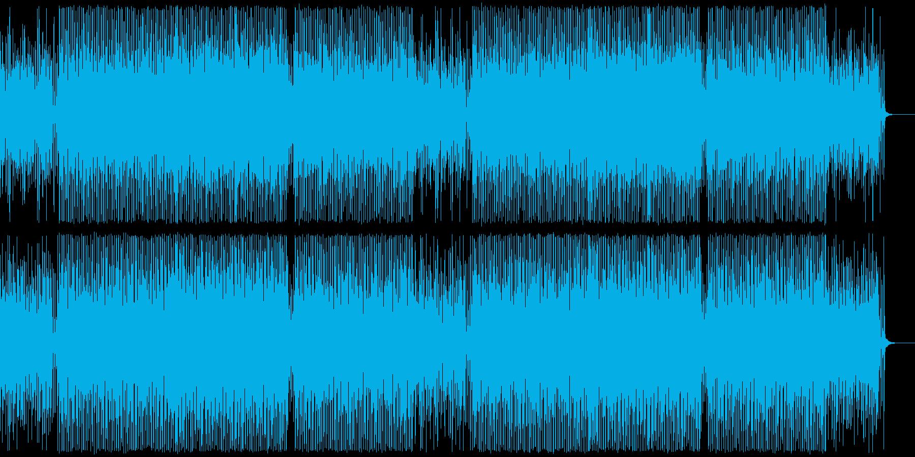 アップテンポなコンセプトムービー系BGMの再生済みの波形