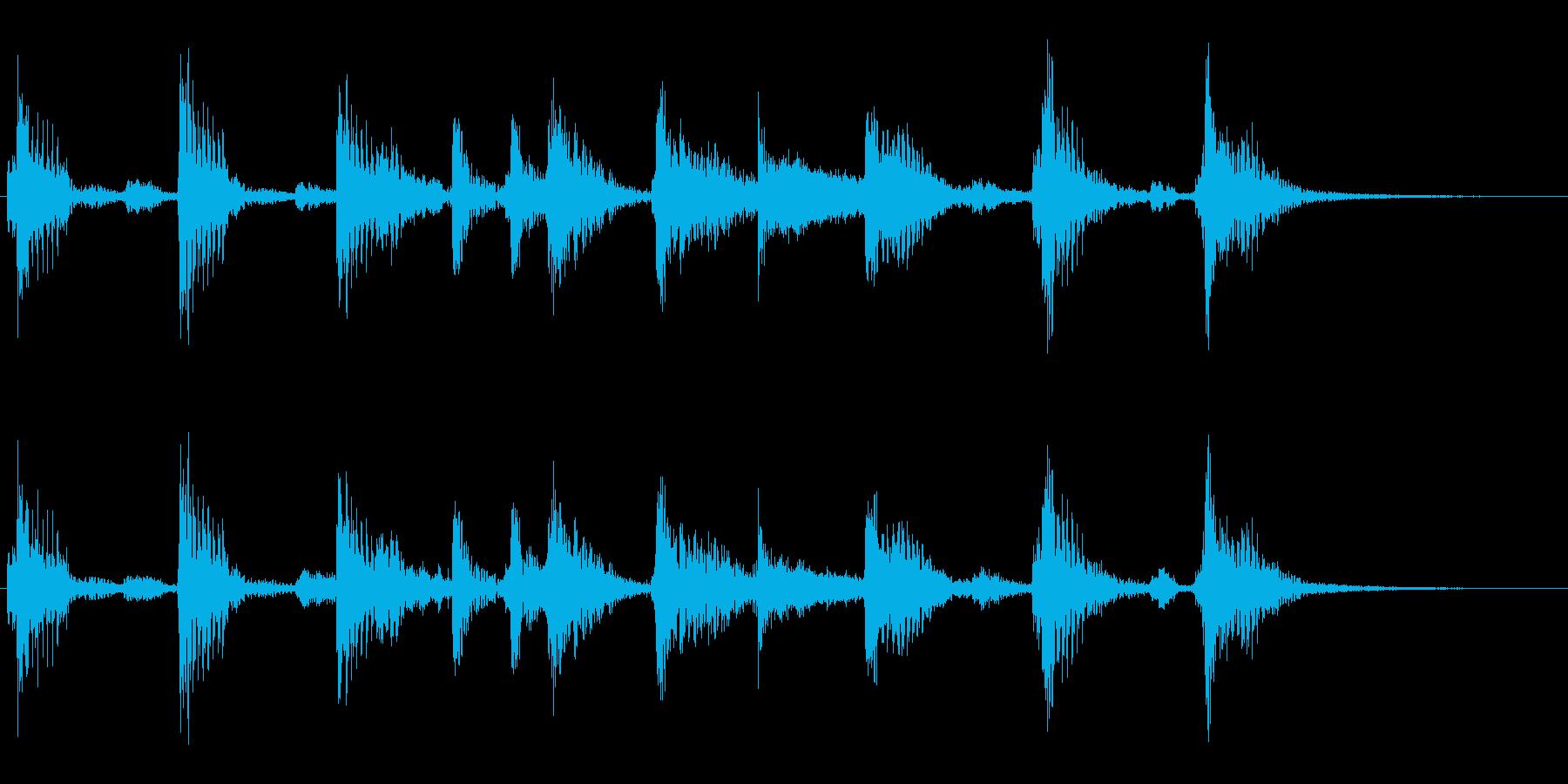 レゲエ #1/ジングル/場面転換の再生済みの波形