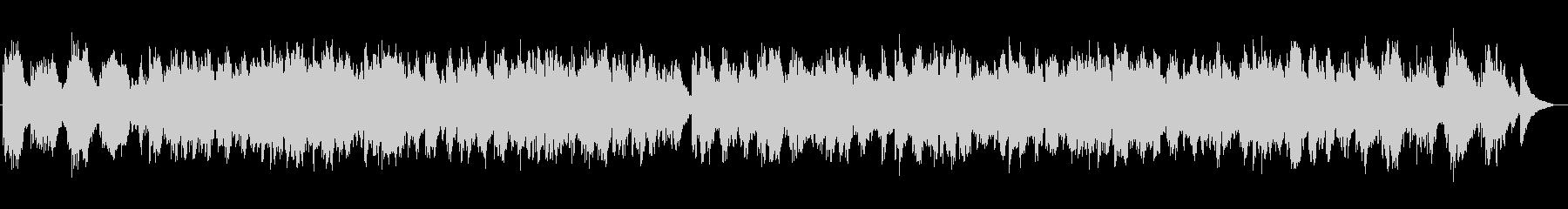 癒しのシンセサイザーサウンドの未再生の波形