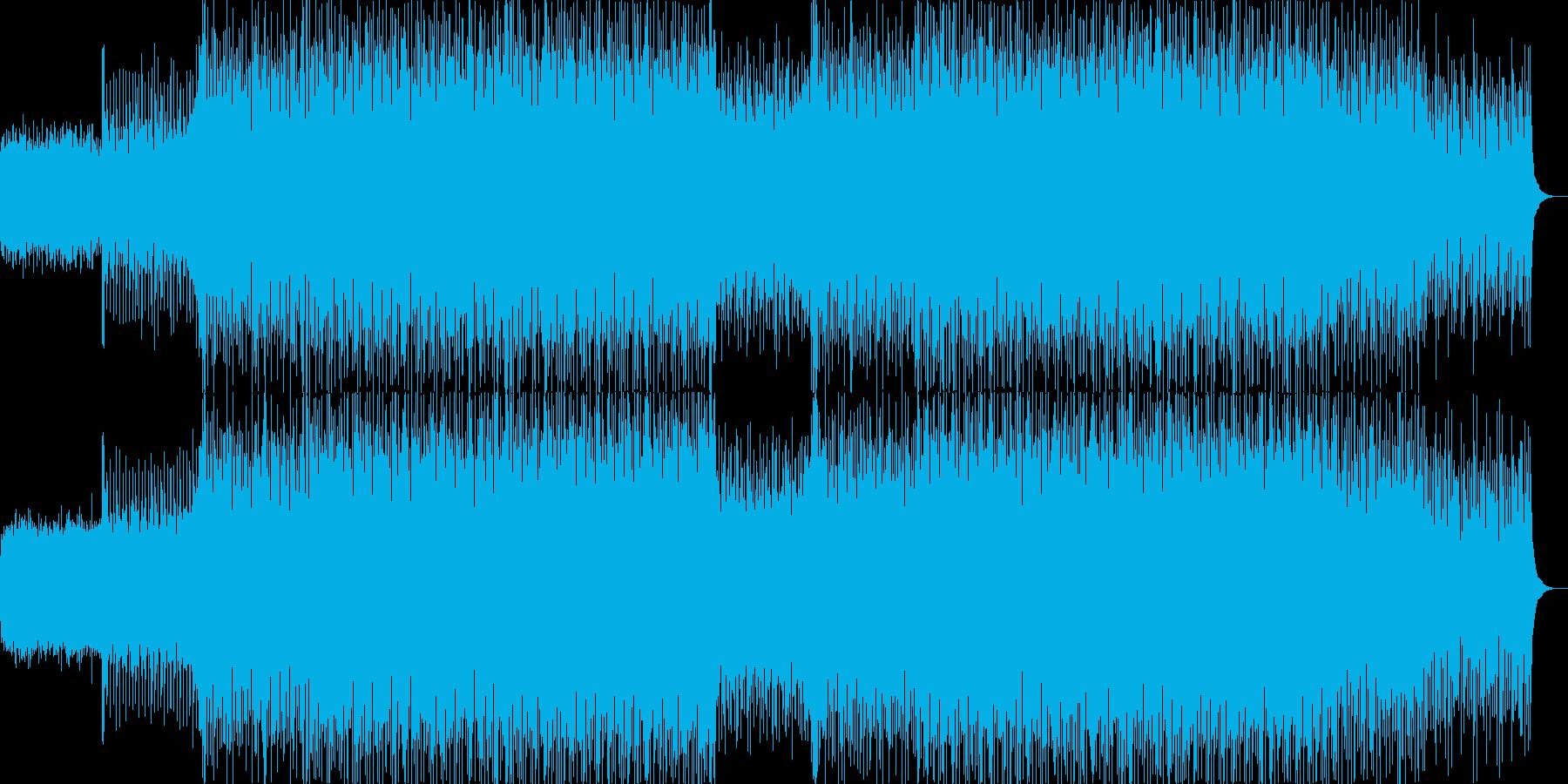 EDMポップで明るく軽快なクラブ系-01の再生済みの波形