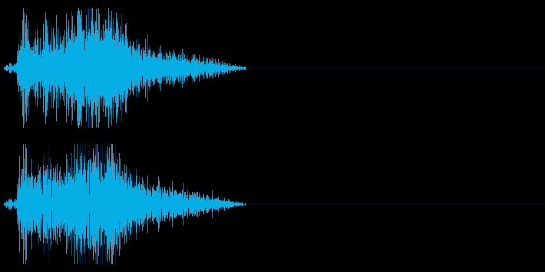 ビシュッ 斬撃音 刀などの再生済みの波形