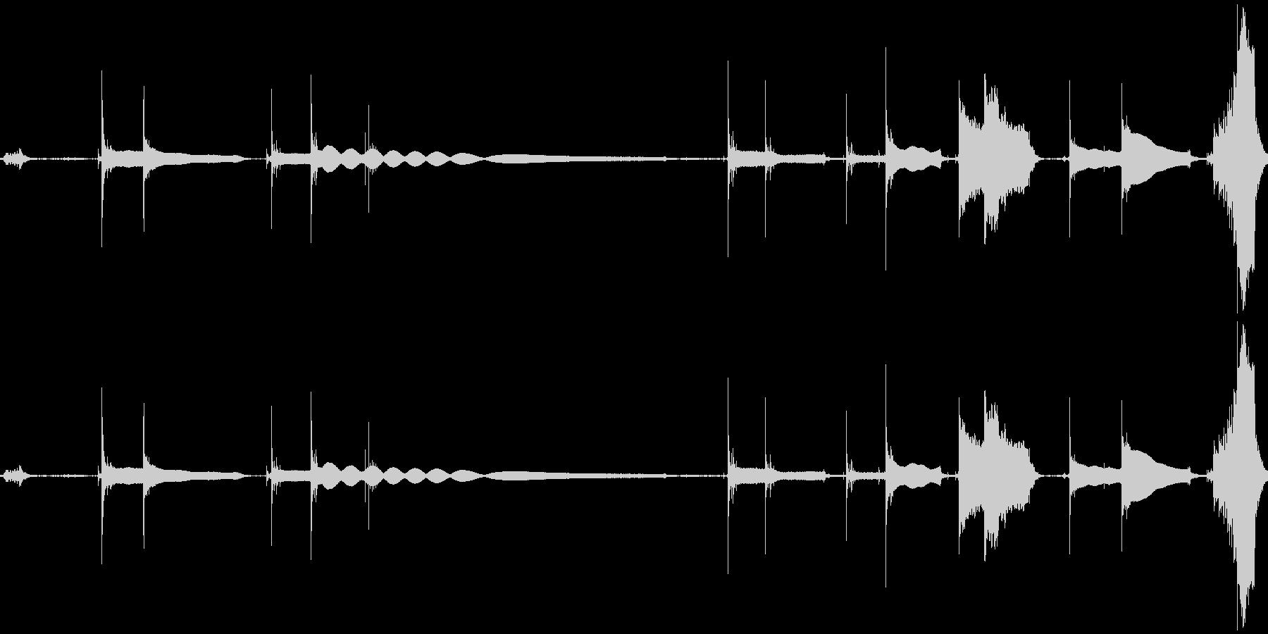 【ギターチューニング音】その②の未再生の波形