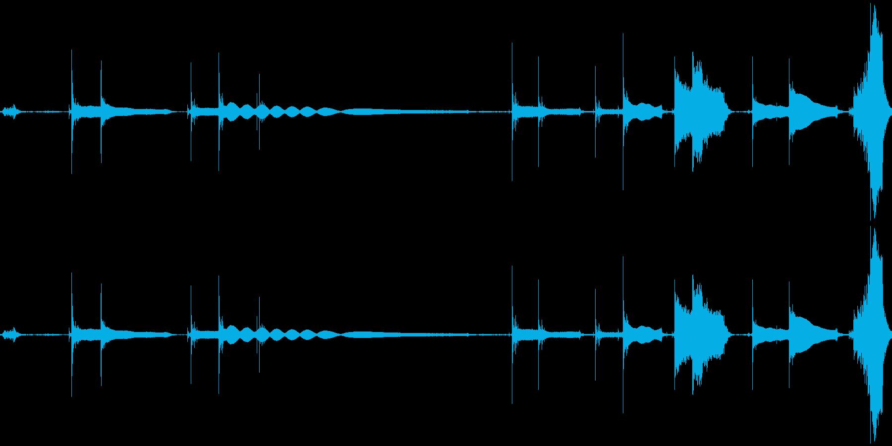 【ギターチューニング音】その②の再生済みの波形