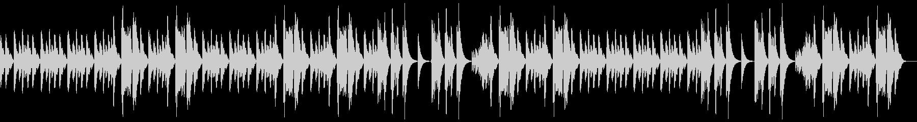 (ピアノソロ)ゆったりとした曲、ほのぼのの未再生の波形