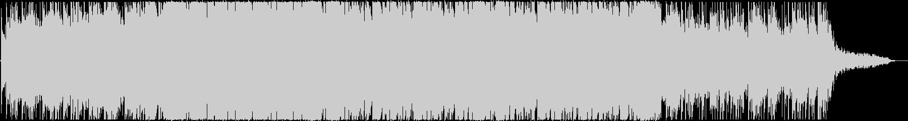 アップビート&ポップなエレクトロニック♪の未再生の波形