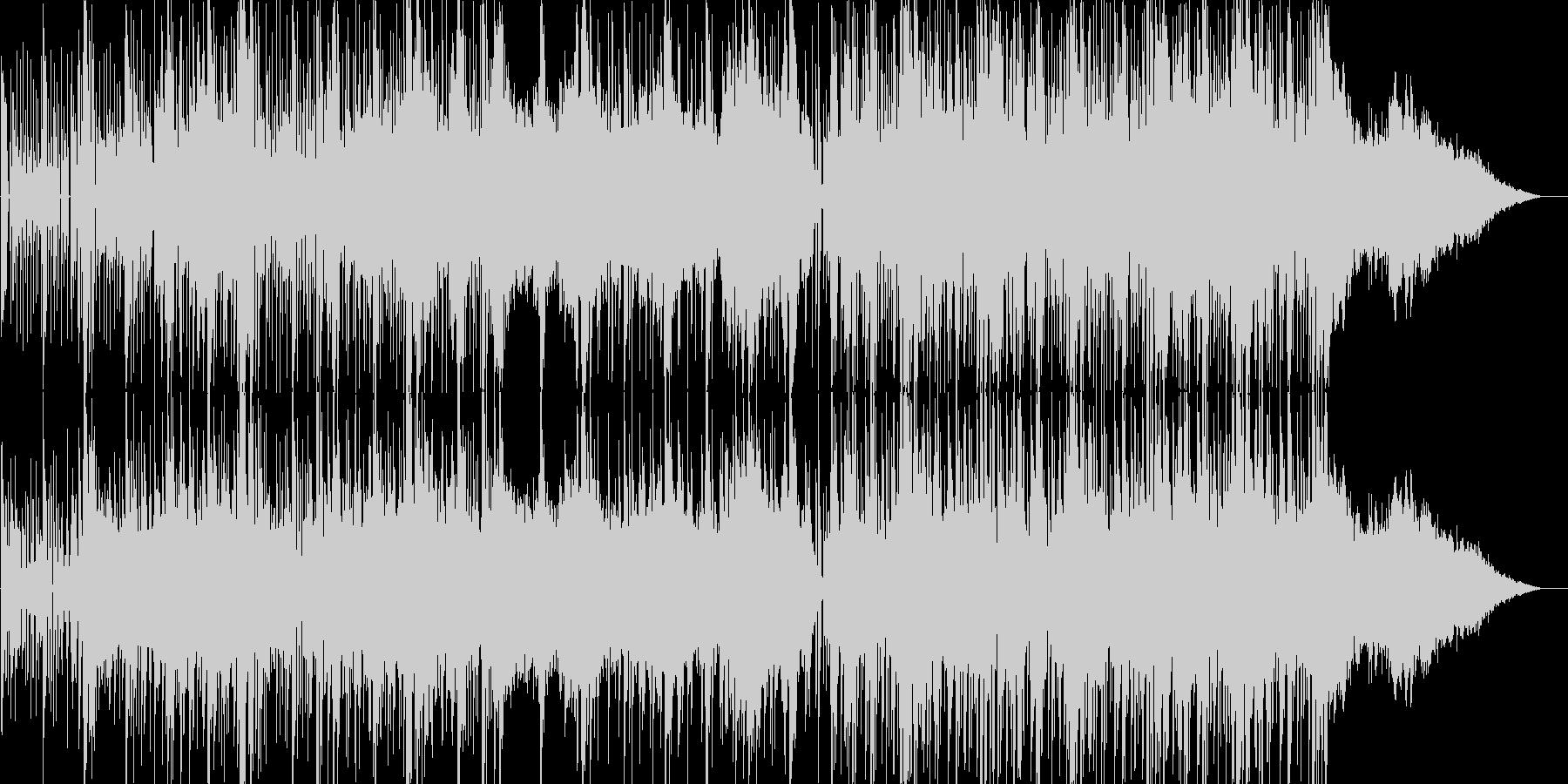 ディストピア・アポカリプスなエレクトロの未再生の波形