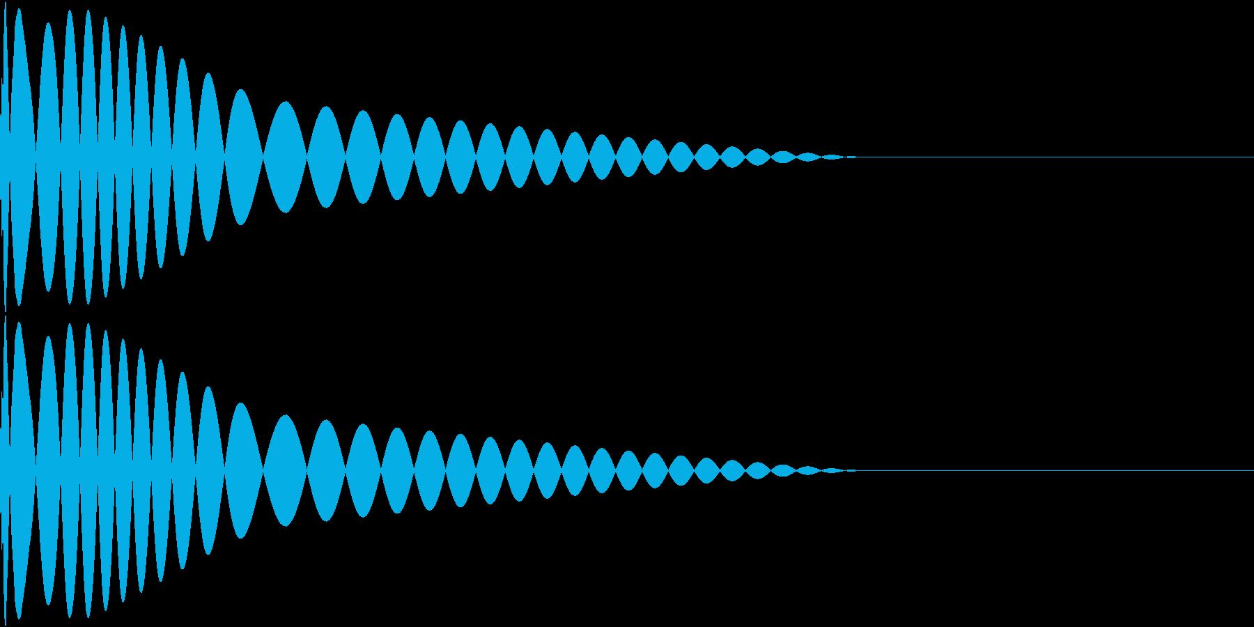 DTM Kick 18 オリジナル音源の再生済みの波形