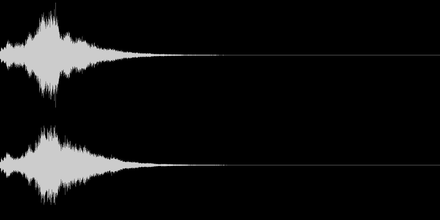 キラキラ♪クリア,達成,回復等に最適20の未再生の波形