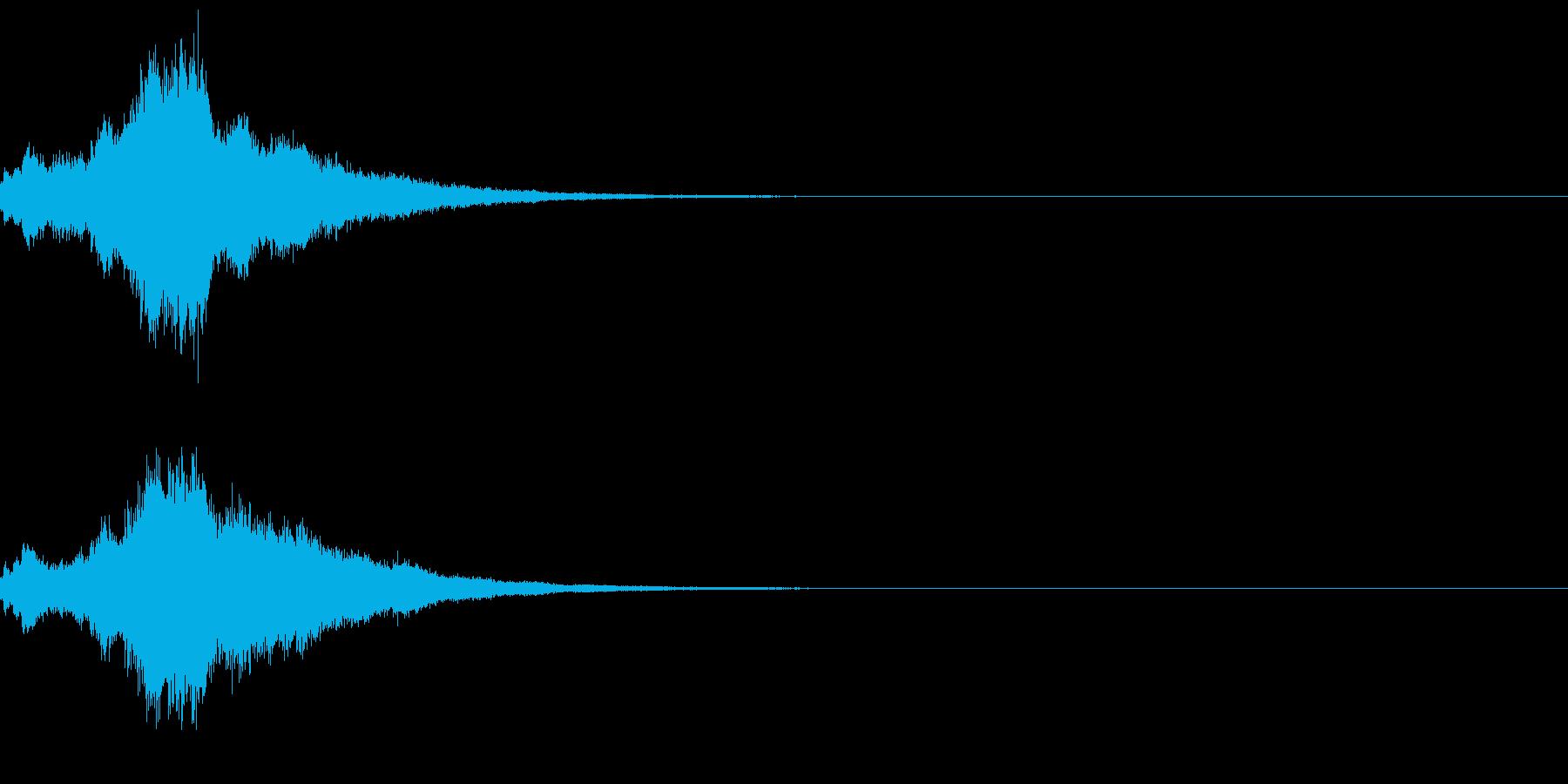 キラキラ♪クリア,達成,回復等に最適20の再生済みの波形