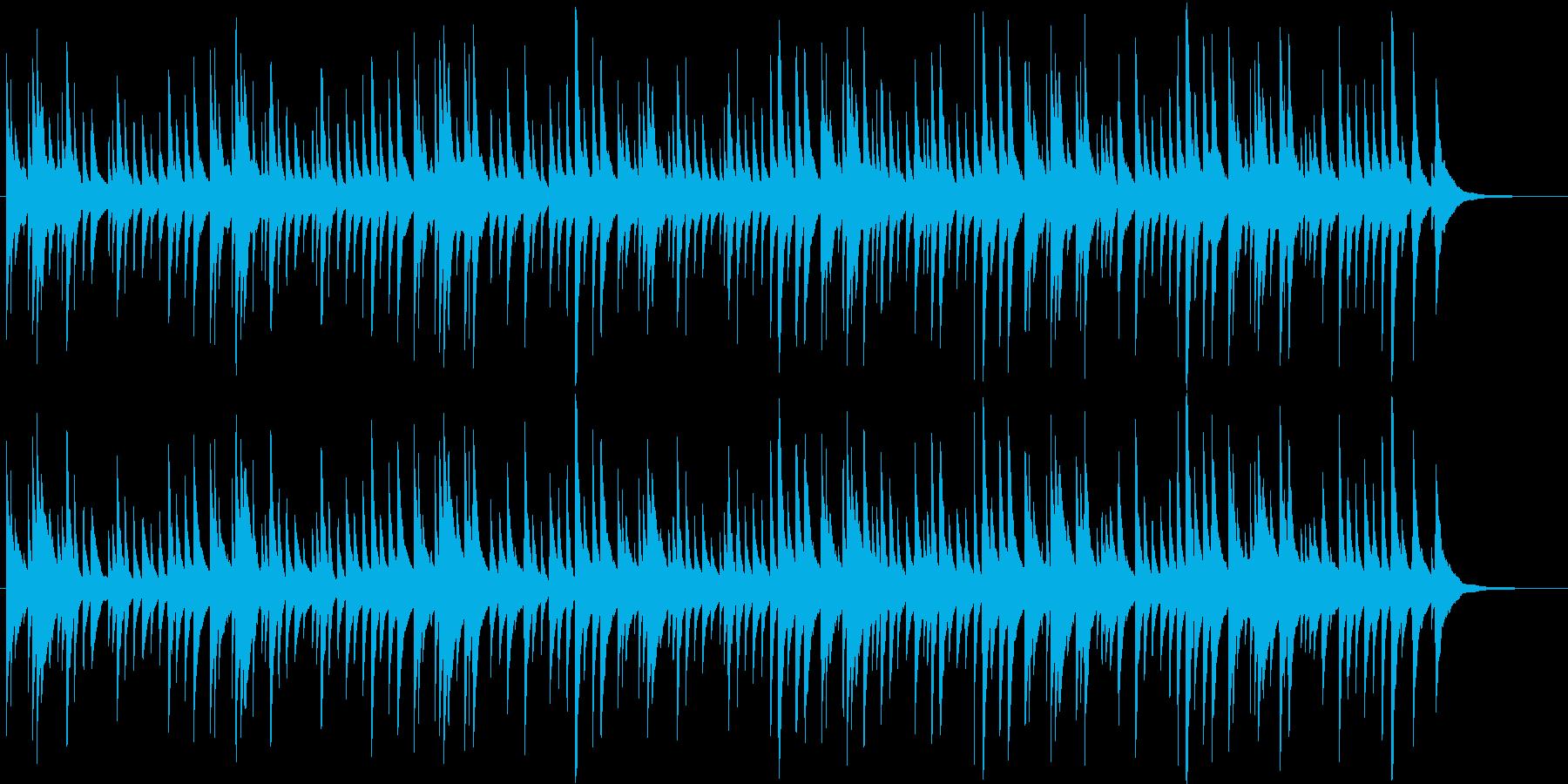 有名クリスマス曲・オルゴールアレンジの再生済みの波形