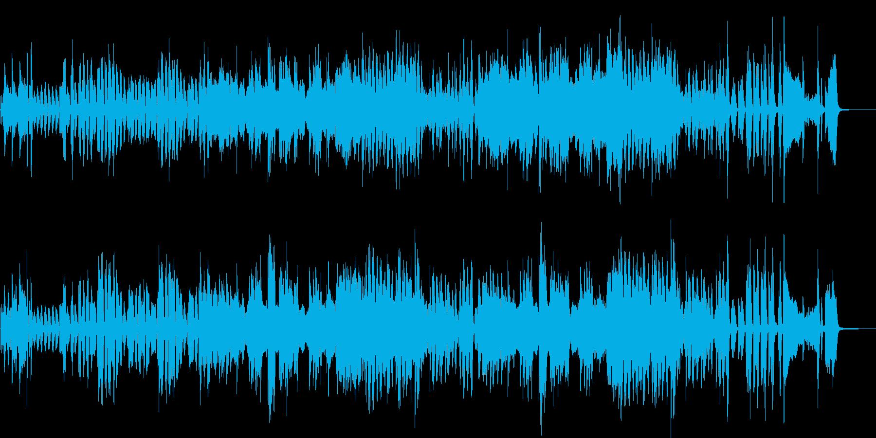 スキップしたくなる連弾ピアノの再生済みの波形
