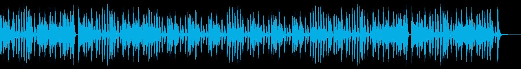 ラグタイム/楽しい/ホンキートンクの再生済みの波形