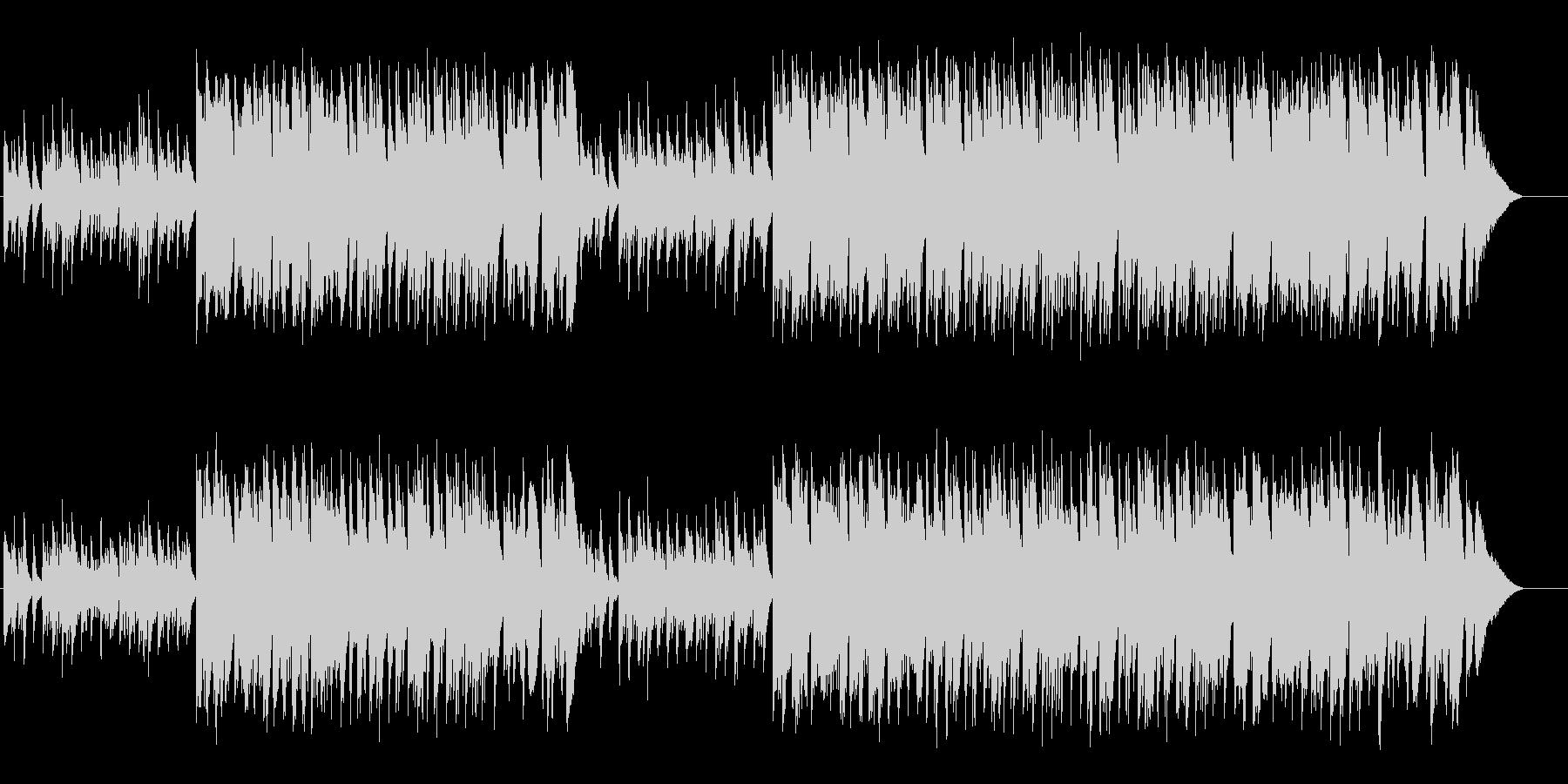 かわいいセミクラシックの未再生の波形