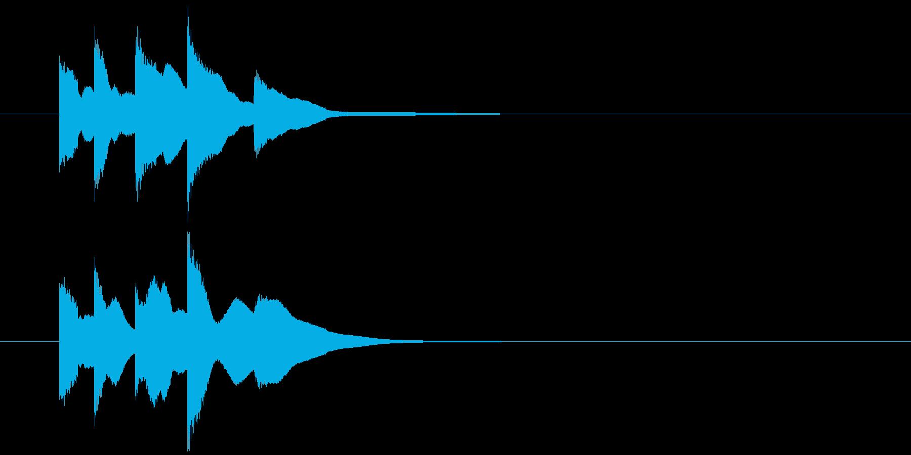 【生録音】チリリリリーンの再生済みの波形