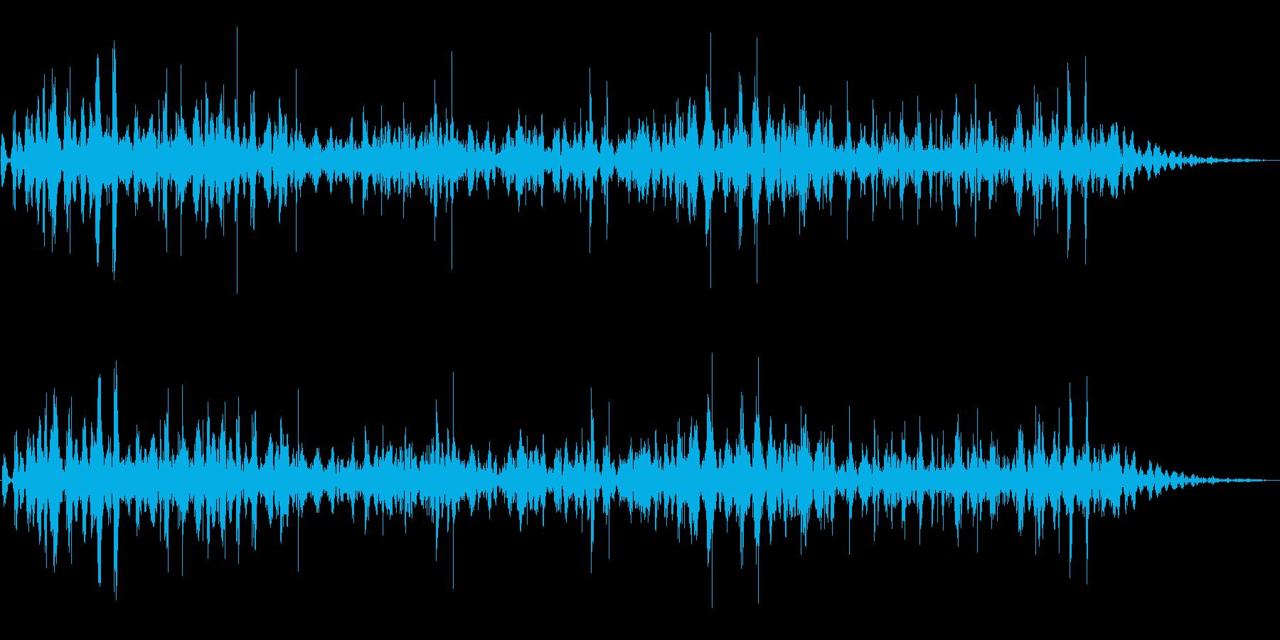 悪魔のスープ(ポコポコと不気味な音)の再生済みの波形