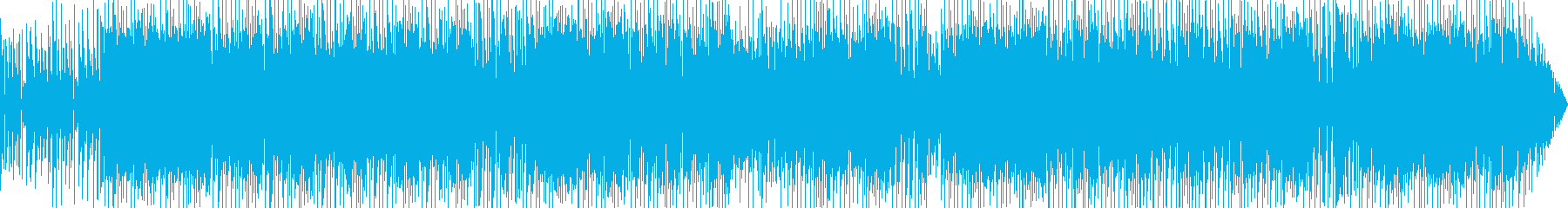 疾走感溢れる大人のフュージョンレゲエの再生済みの波形