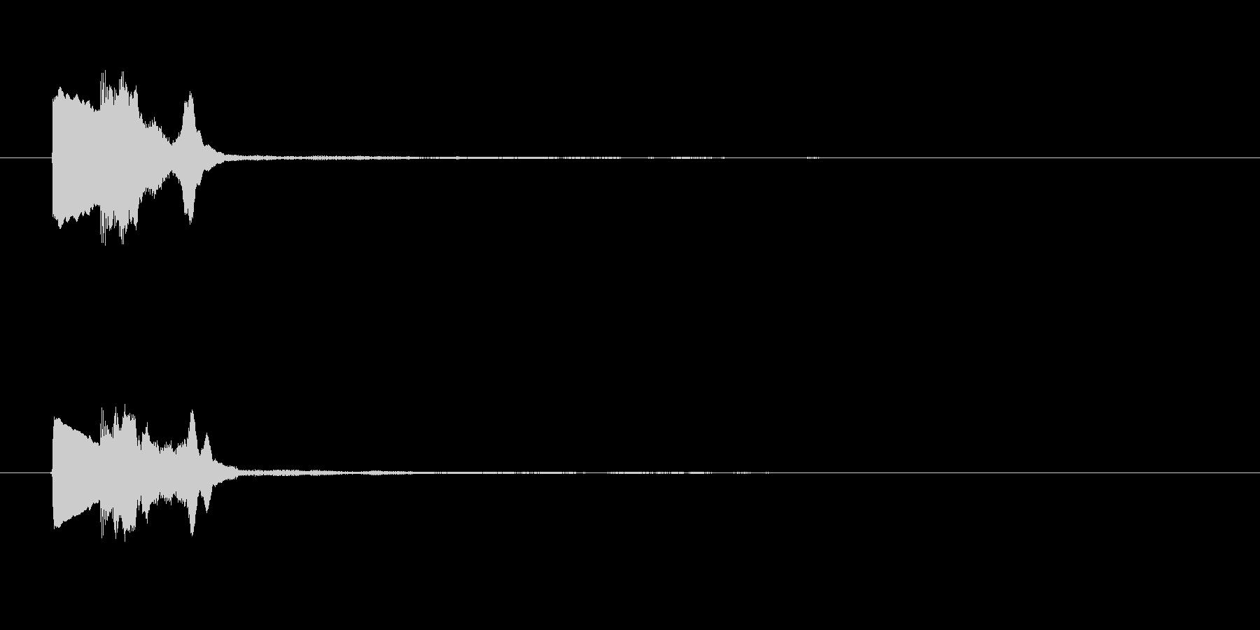ゲーム決定音3   K17の未再生の波形