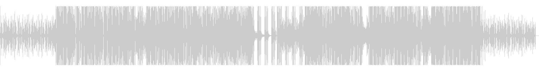 デジタル・ラティーノ・エレクトロの未再生の波形