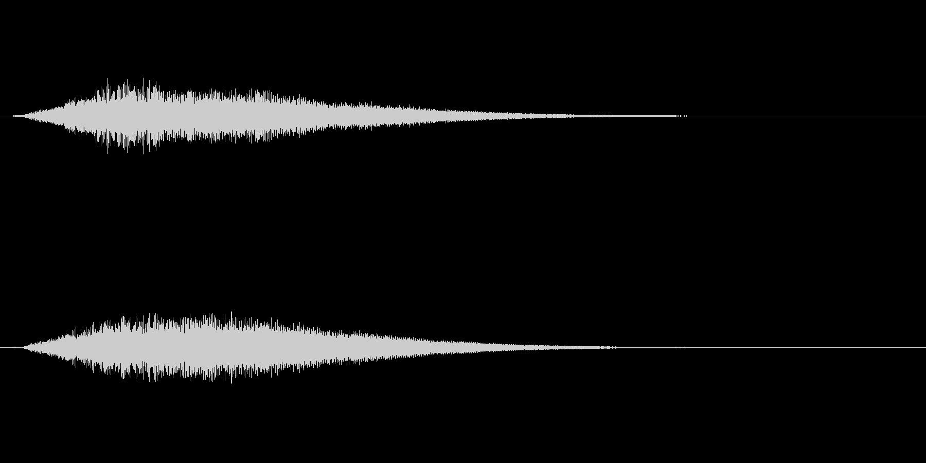 【サイバー01-1】の未再生の波形