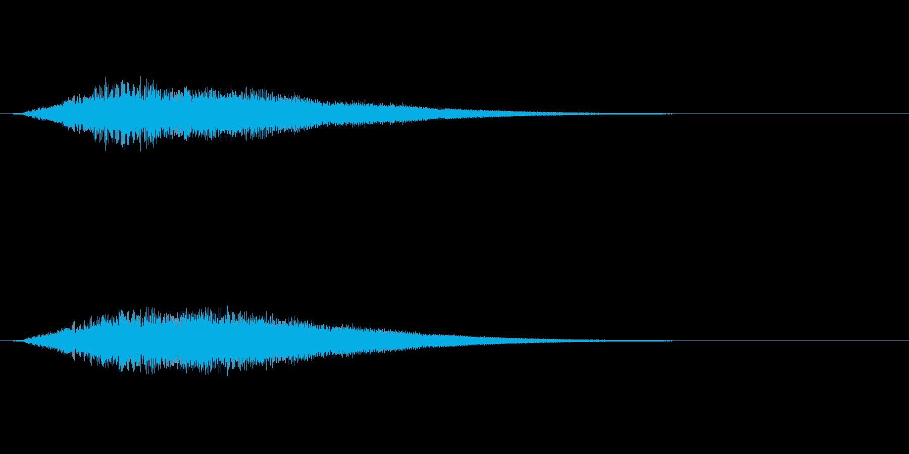 【サイバー01-1】の再生済みの波形