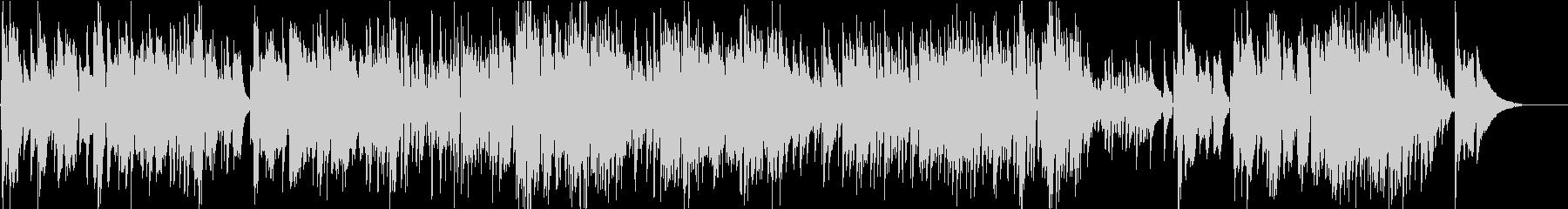バリトンサックスとアコギのワルツの未再生の波形