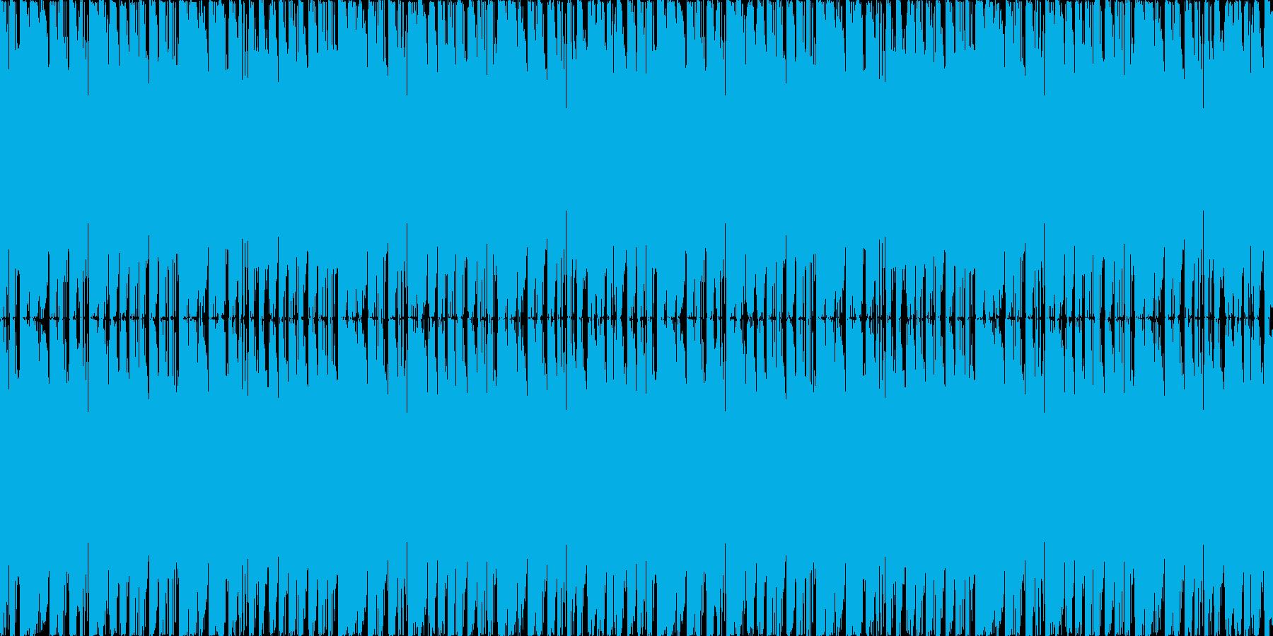 コミカルの再生済みの波形