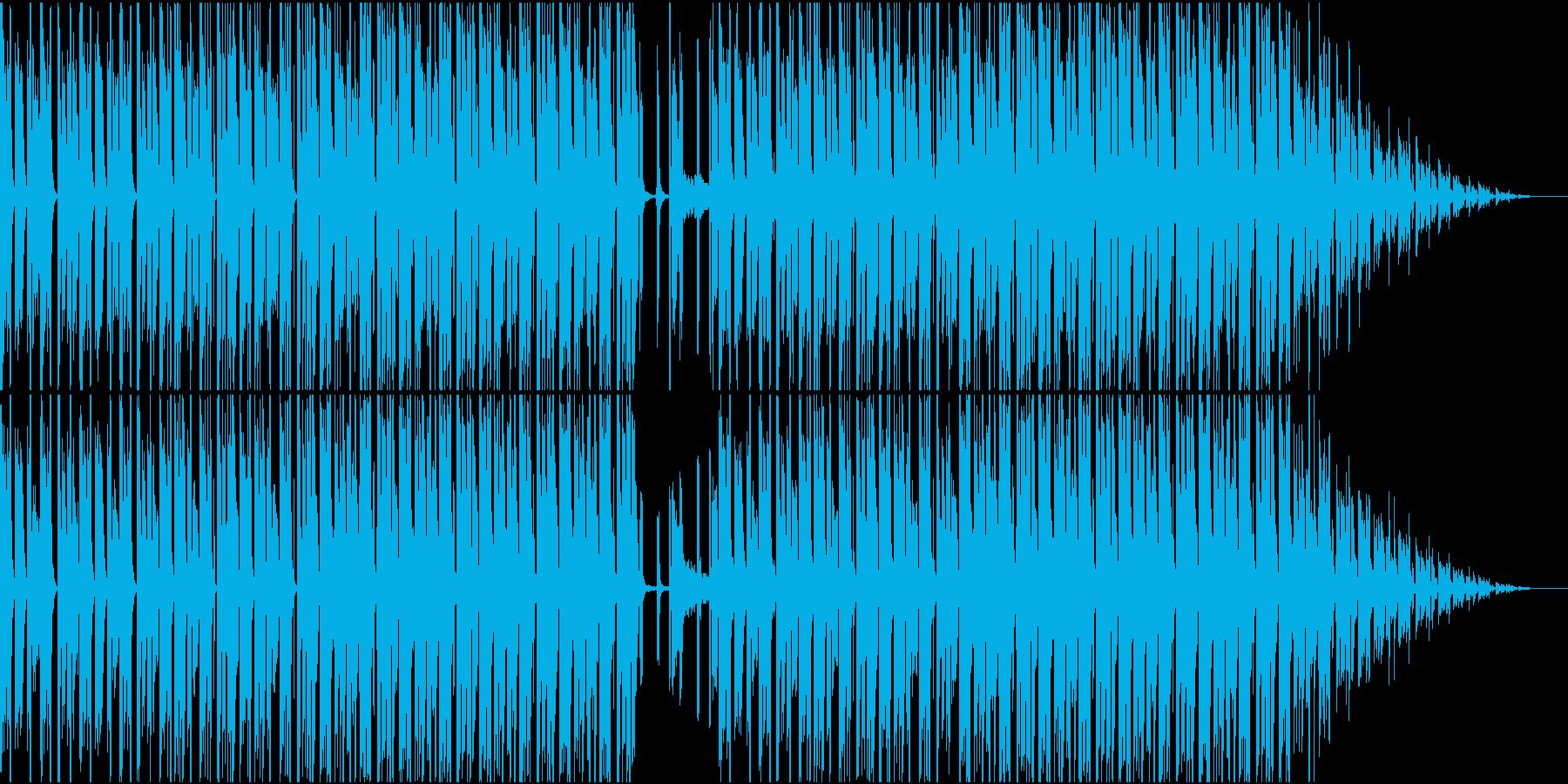 爽やかなHiphopの再生済みの波形
