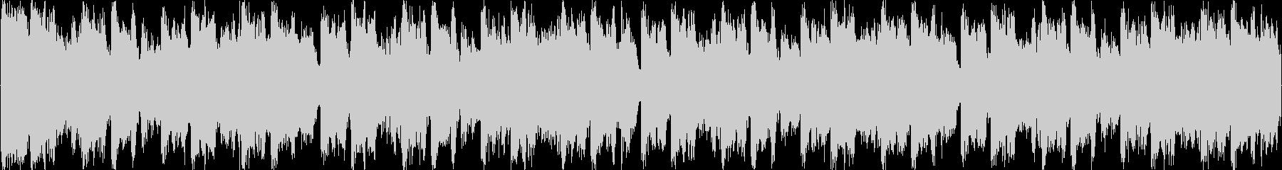 高揚感のあるなオーケストラゲームBGMの未再生の波形