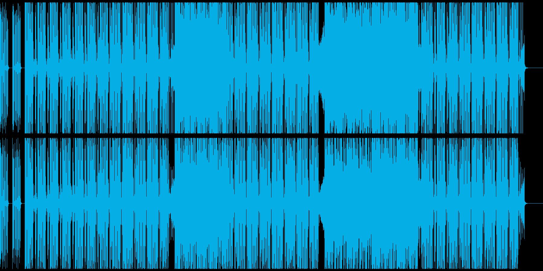 CM・VP・ゲーム等 軽快なギターポップの再生済みの波形