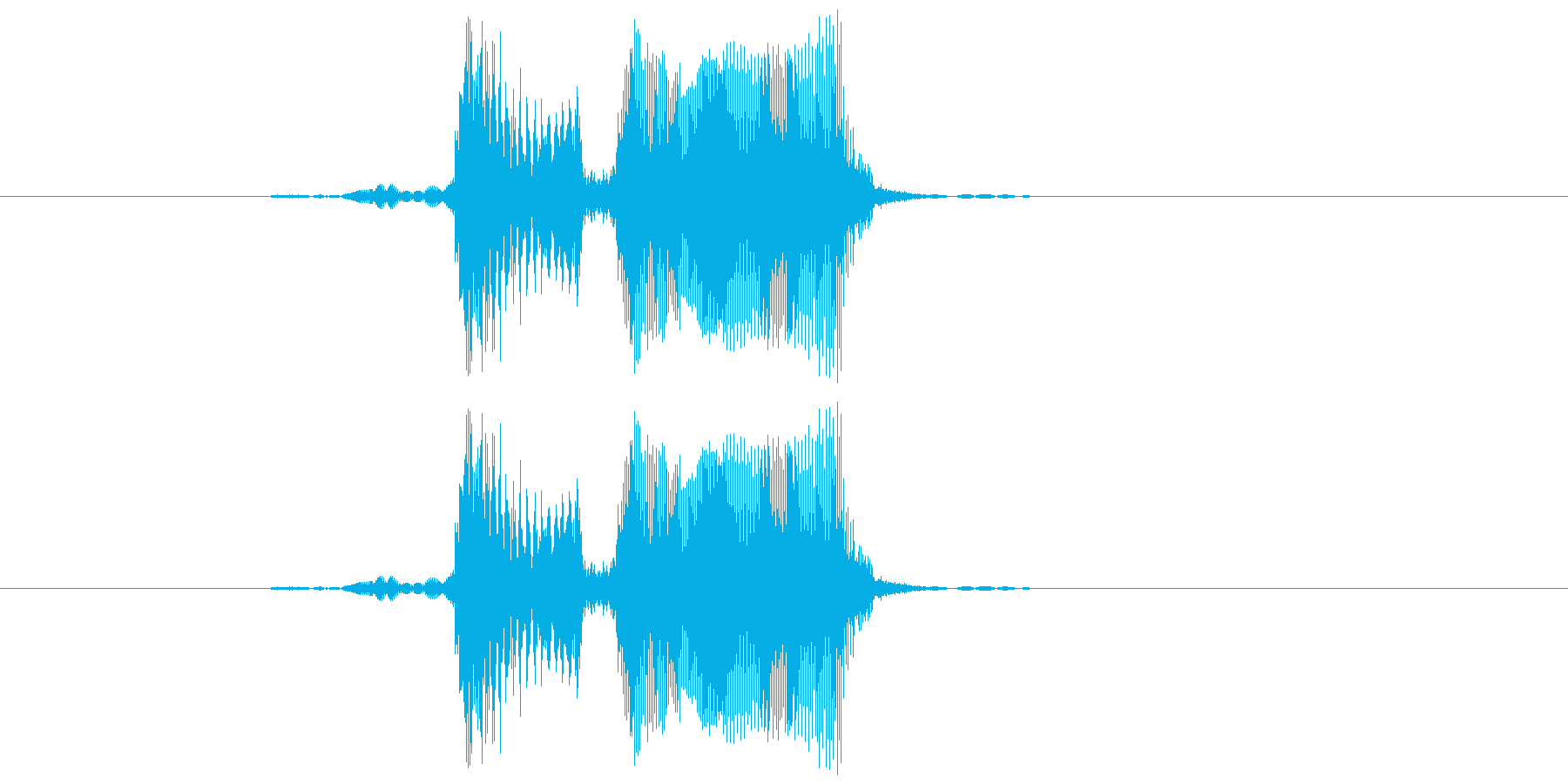 ベイベーの再生済みの波形
