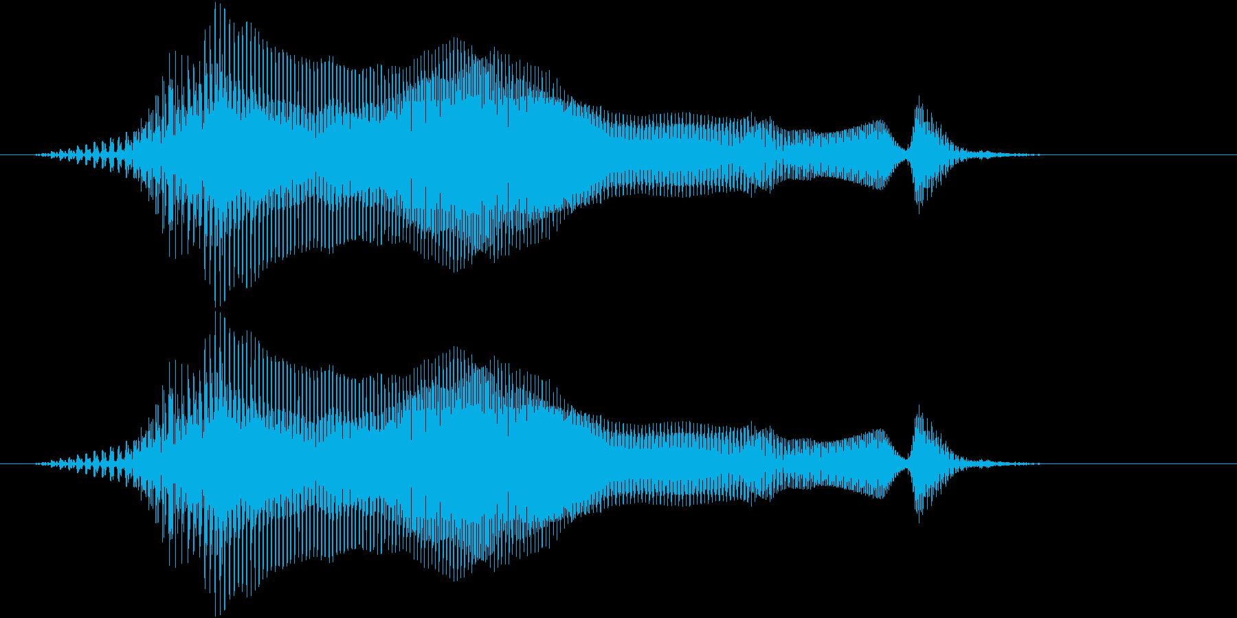 ラウンドの再生済みの波形