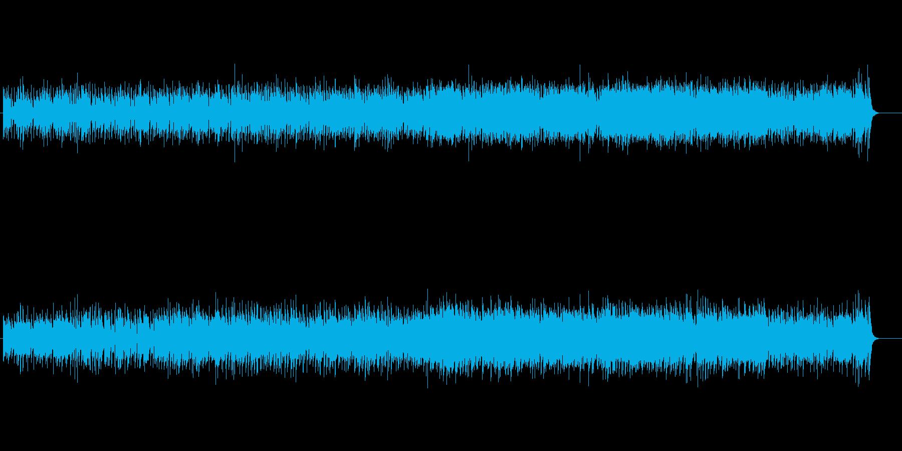 ボサノバ・タッチのピアノ・フュージョンの再生済みの波形