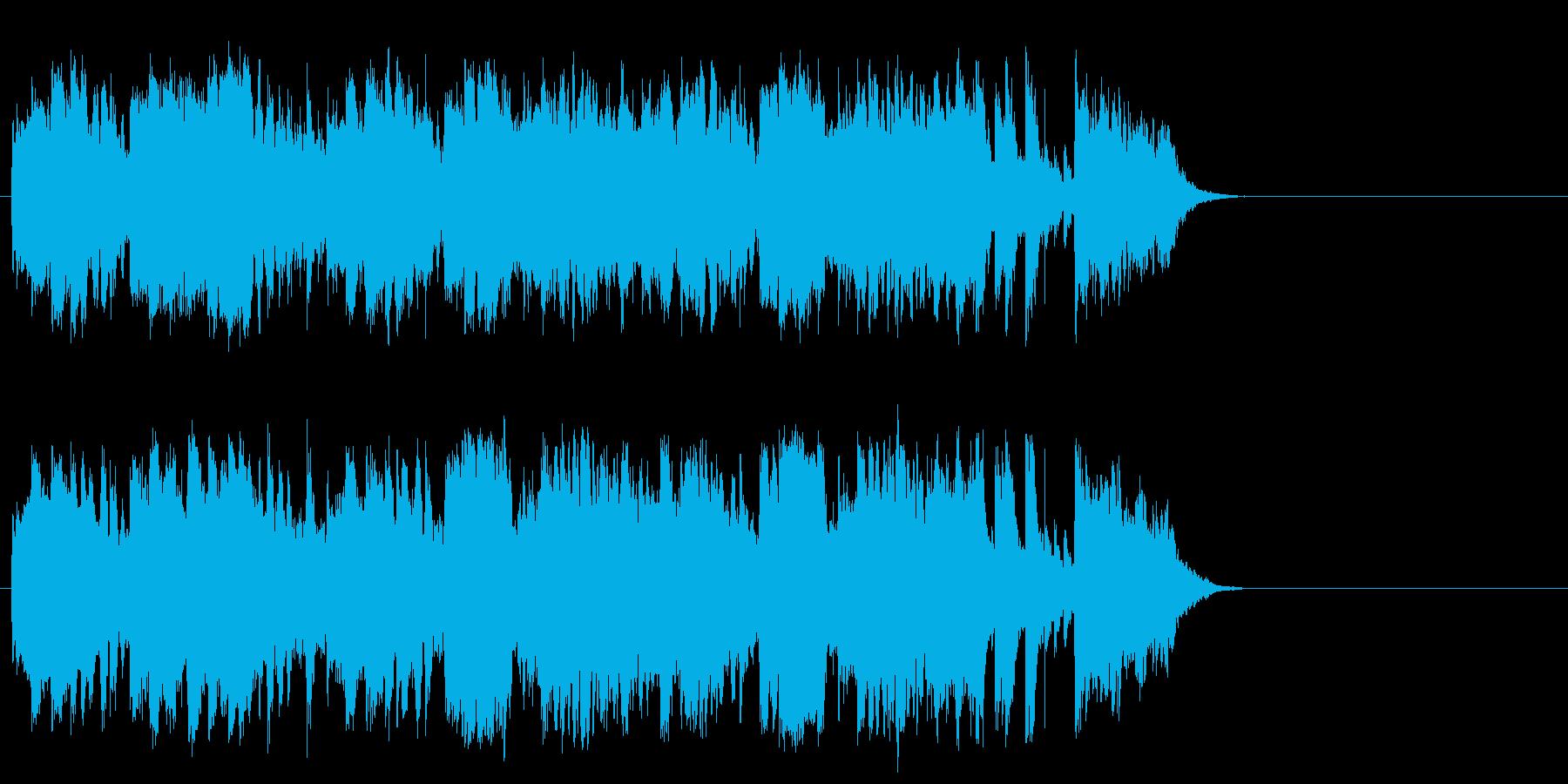 明るく爽やかなポップス(イントロ)の再生済みの波形