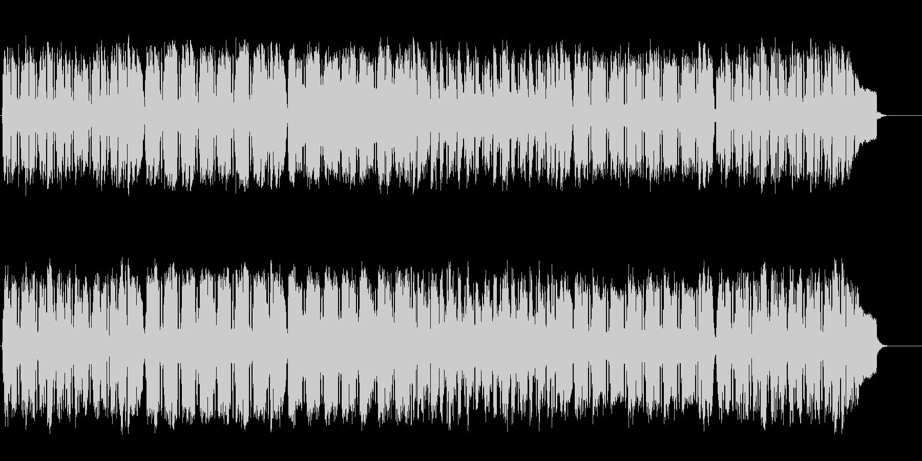 バロック調のエレガントなクラシックの未再生の波形