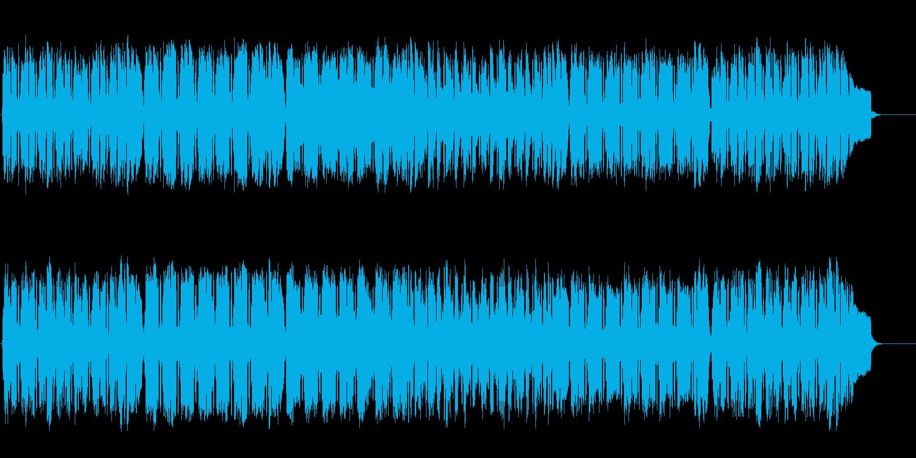 バロック調のエレガントなクラシックの再生済みの波形