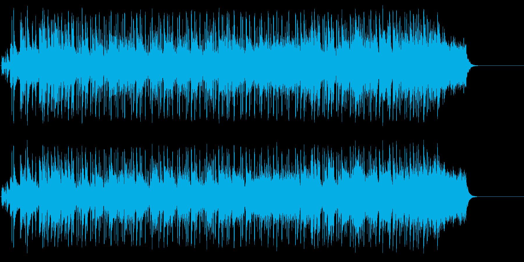 華々しくオープニングを飾るポップの再生済みの波形