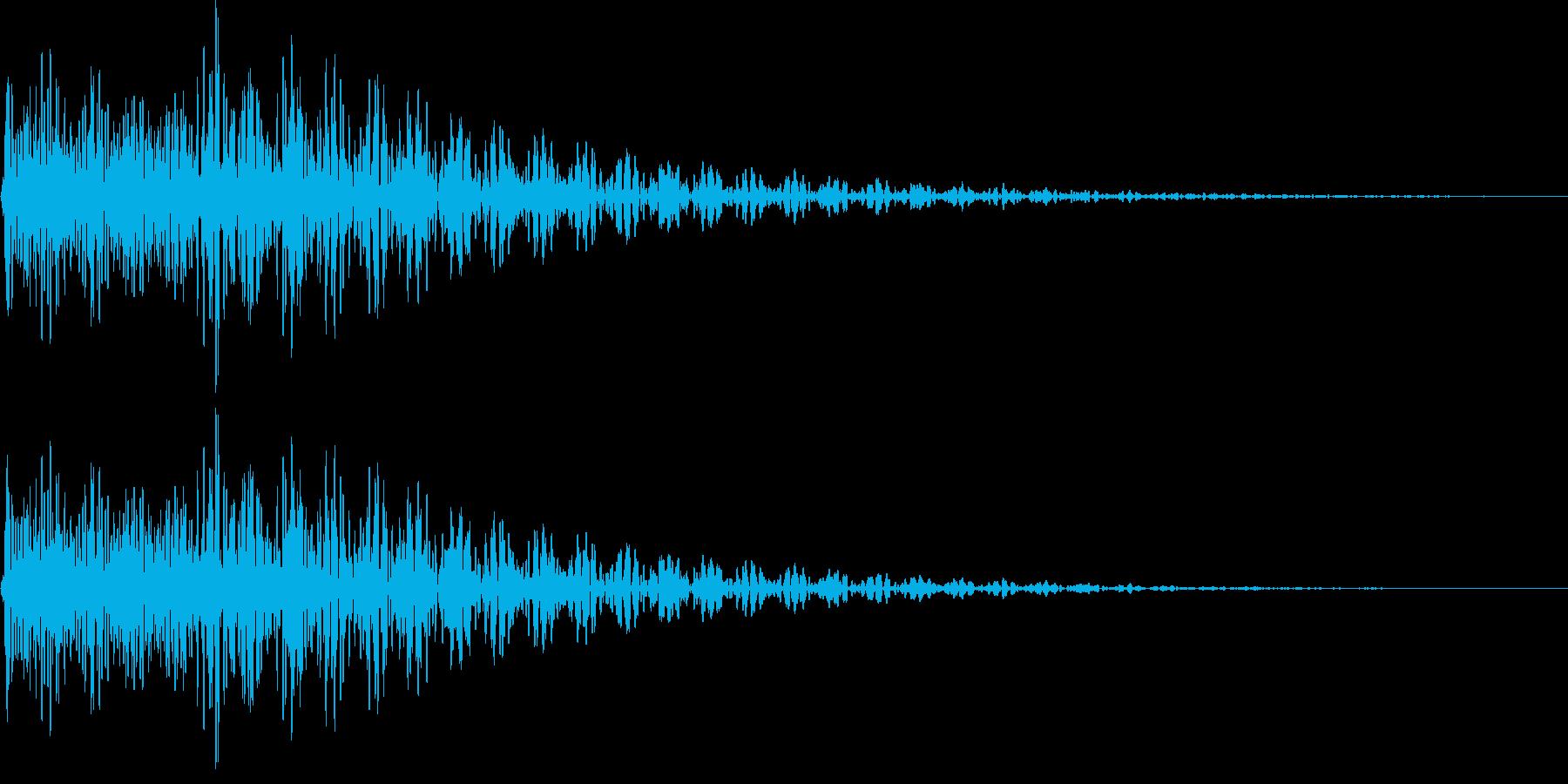 デデン(ミス、キャンセル、ガムラン)の再生済みの波形
