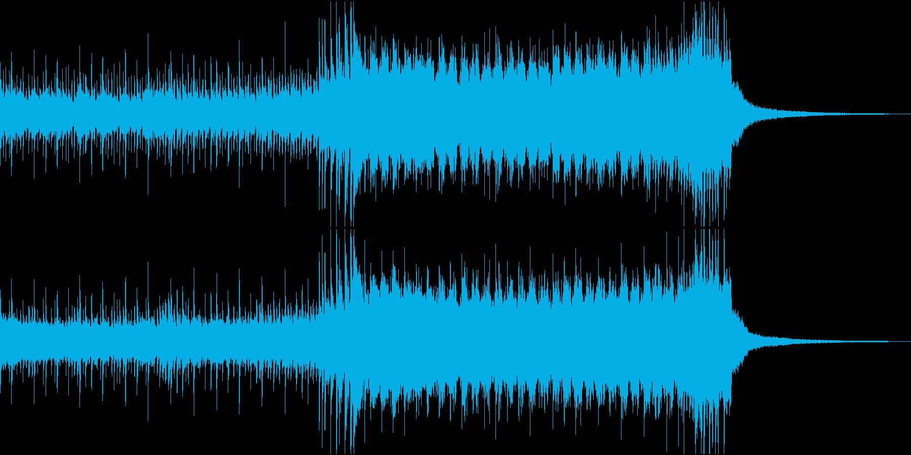 爽やかで高揚感あるEDM!の再生済みの波形