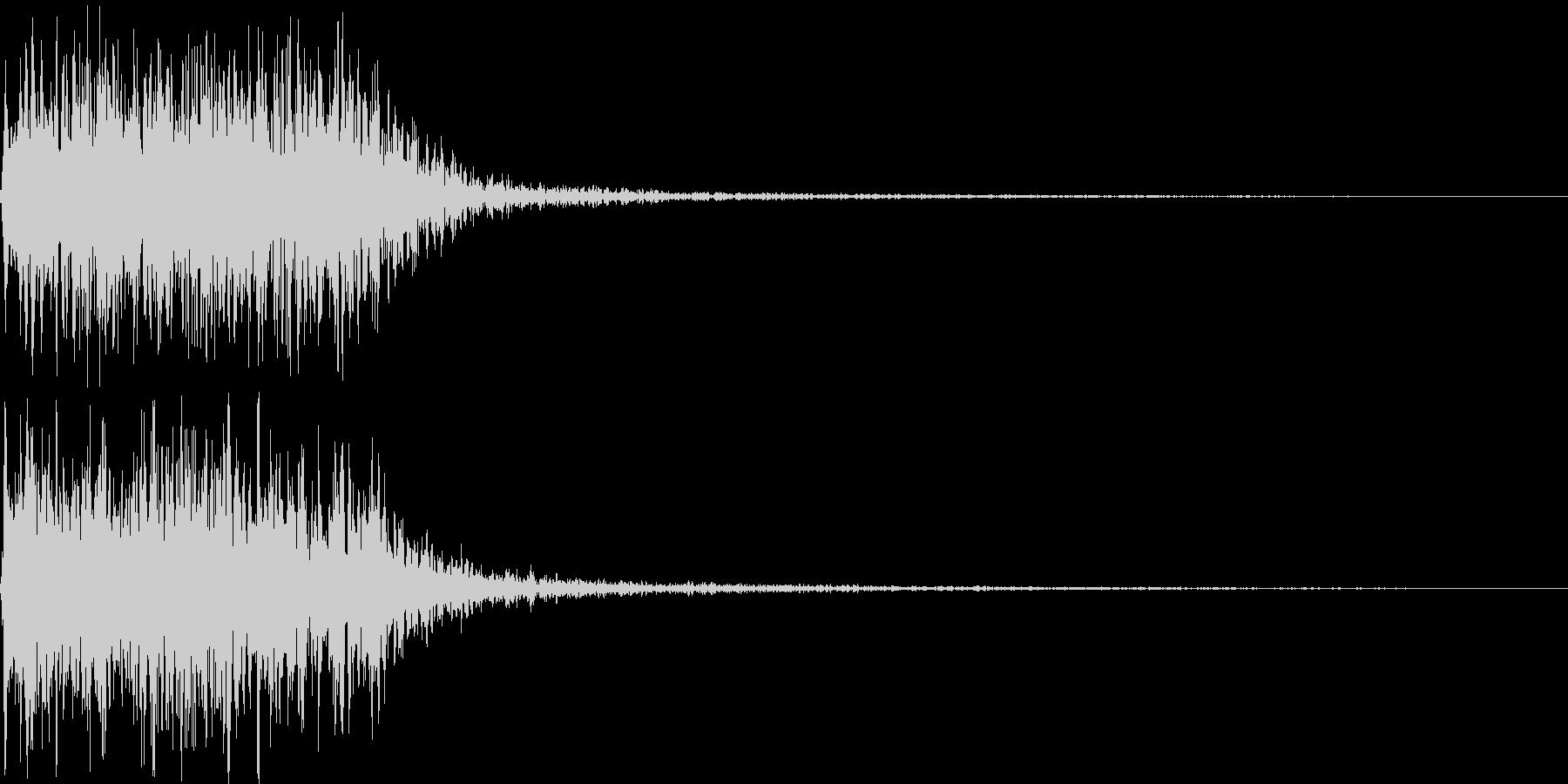 吹きすさぶ風・竜巻系の魔法(高2)sの未再生の波形