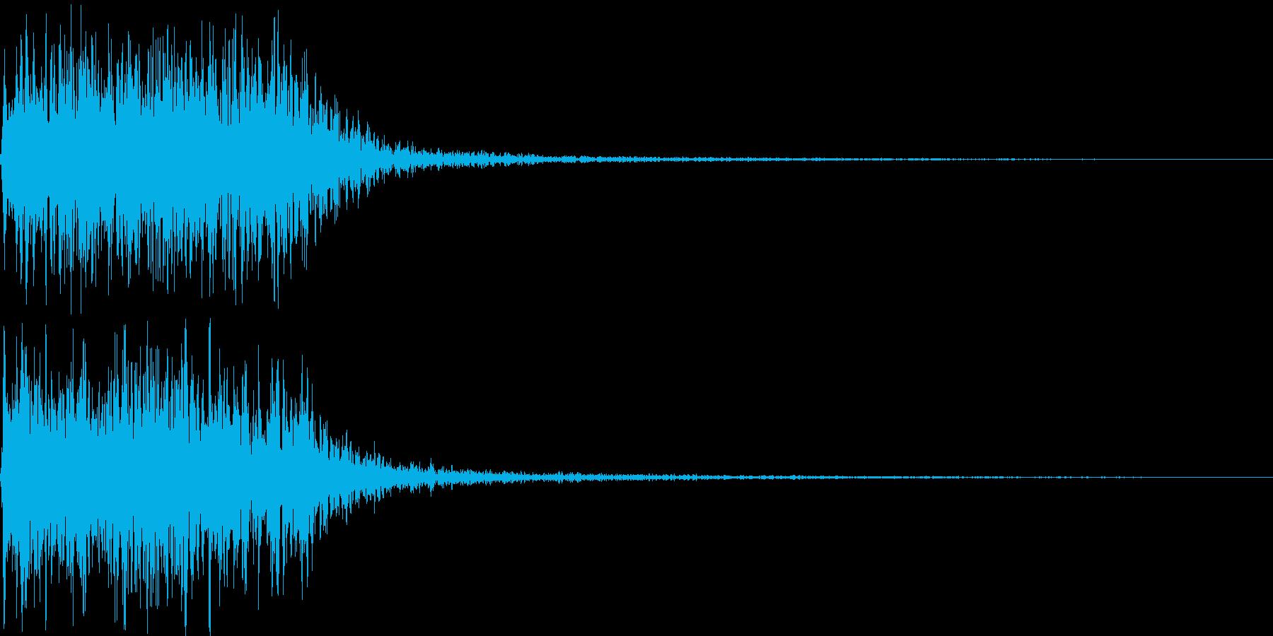 吹きすさぶ風・竜巻系の魔法(高2)sの再生済みの波形