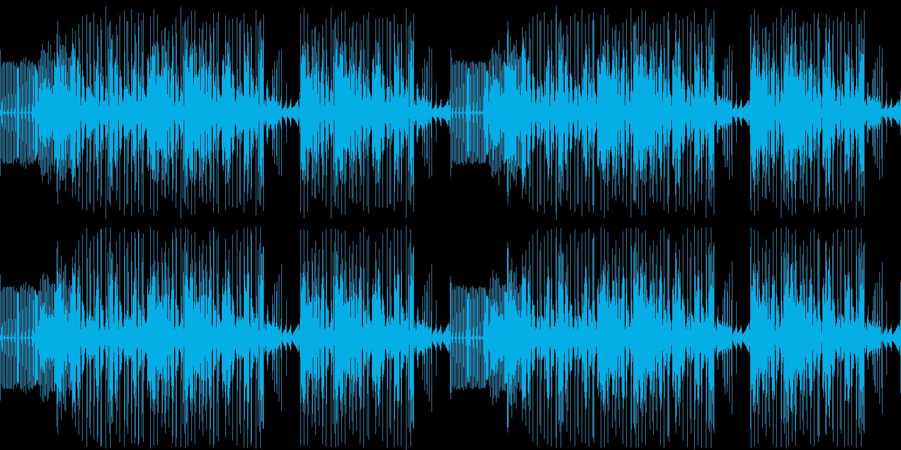 【落ち着いた雰囲気/チルアウトJAZZ】の再生済みの波形