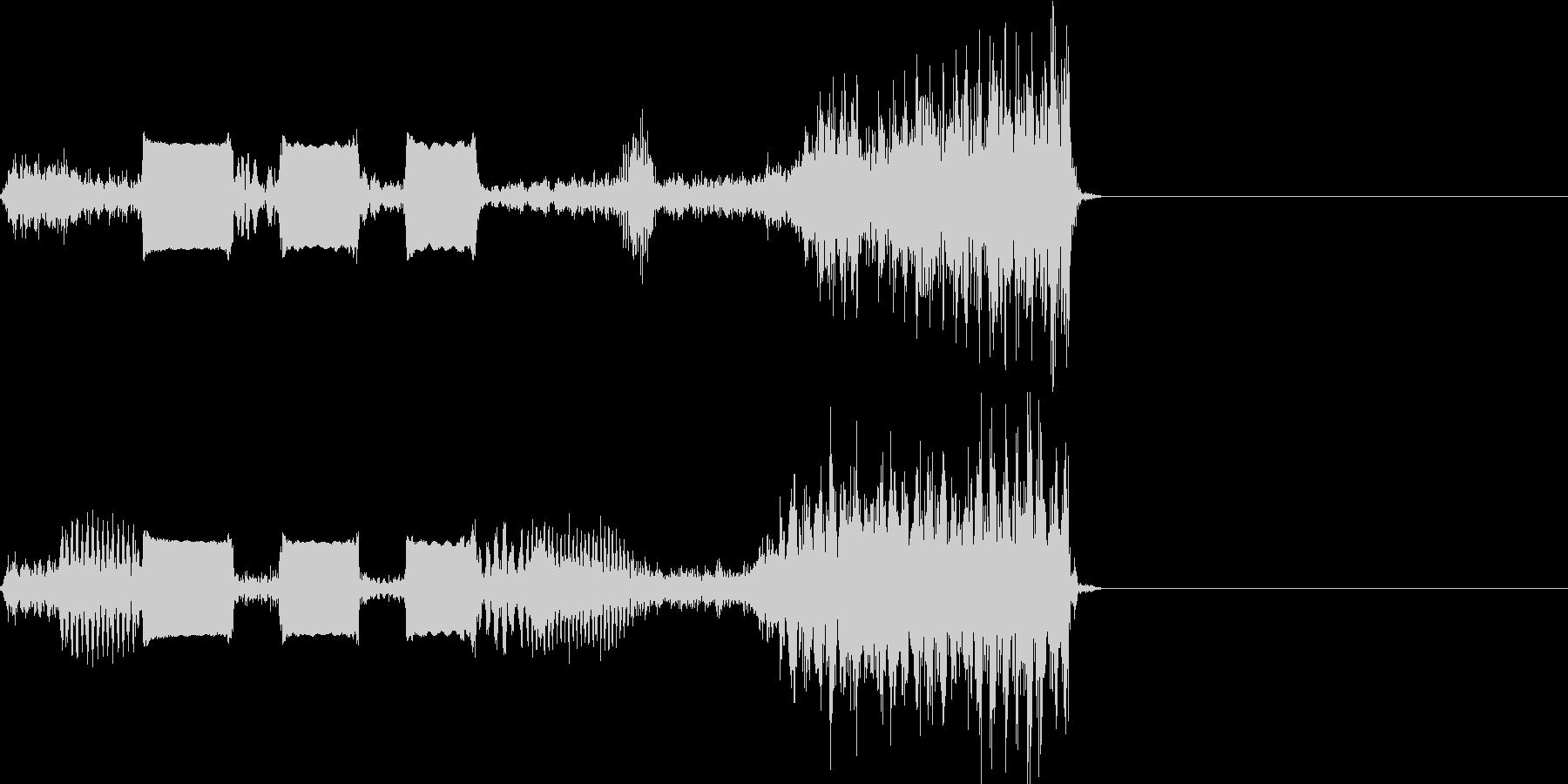 【SE 効果音】スクラッチ2の未再生の波形