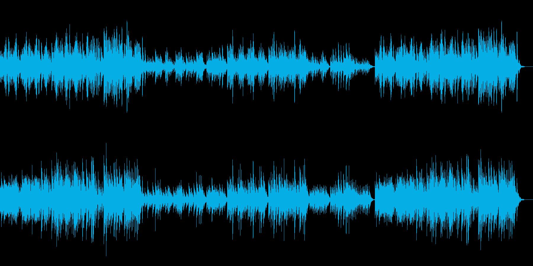 可愛いオルゴールの再生済みの波形