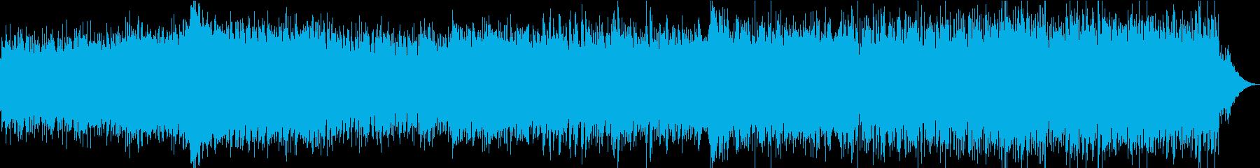 勢いがあって緊張感のあるエレクトロの再生済みの波形